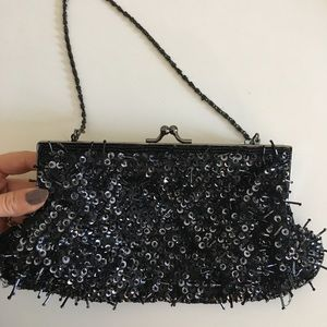 Vintage sequin purse / clutch
